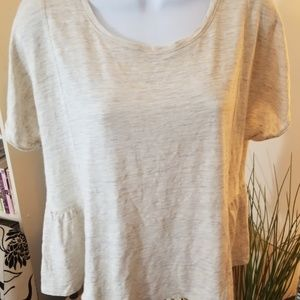 Madewell - Linen Top - Gathered at the back